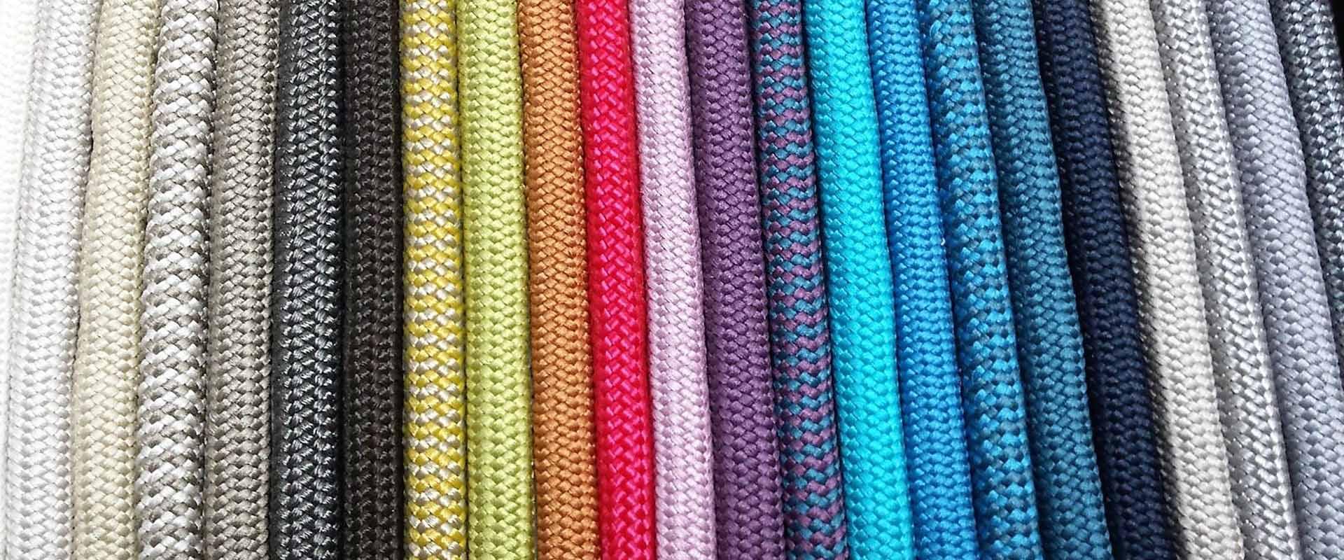 alternativo Muestrarios cordones multicolor