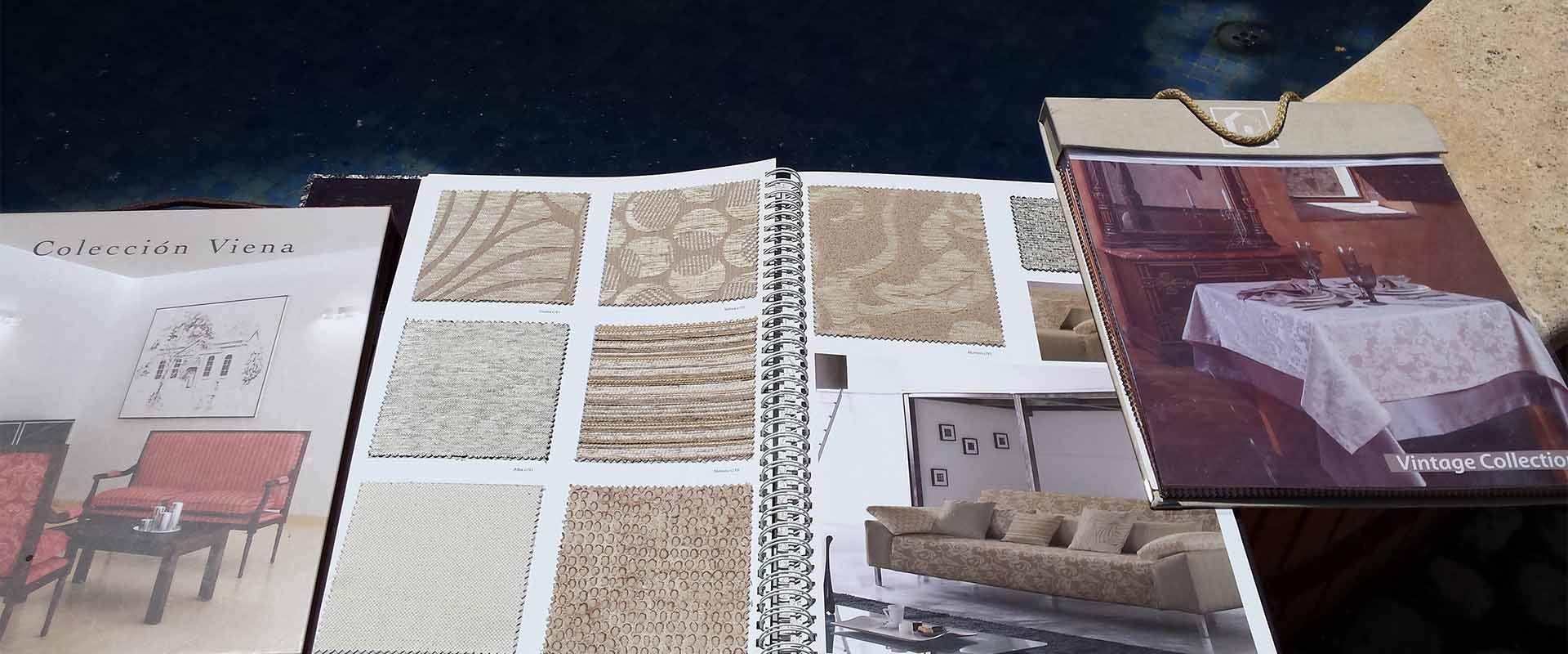Libros de muestras